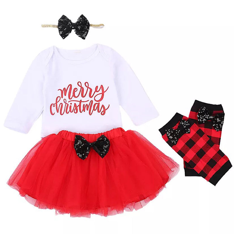 Merry Christmas Tutu Set