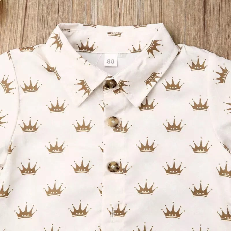 Boys Crown 2 Piece