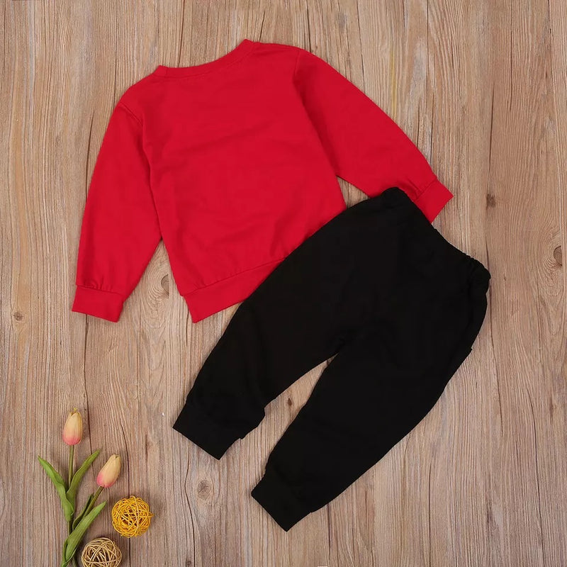 Santa Sweater and Jogger Set