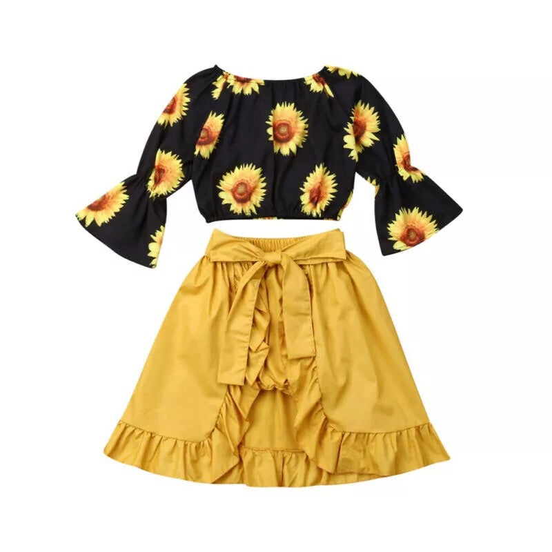 Sunflower 2 Piece Flyaway
