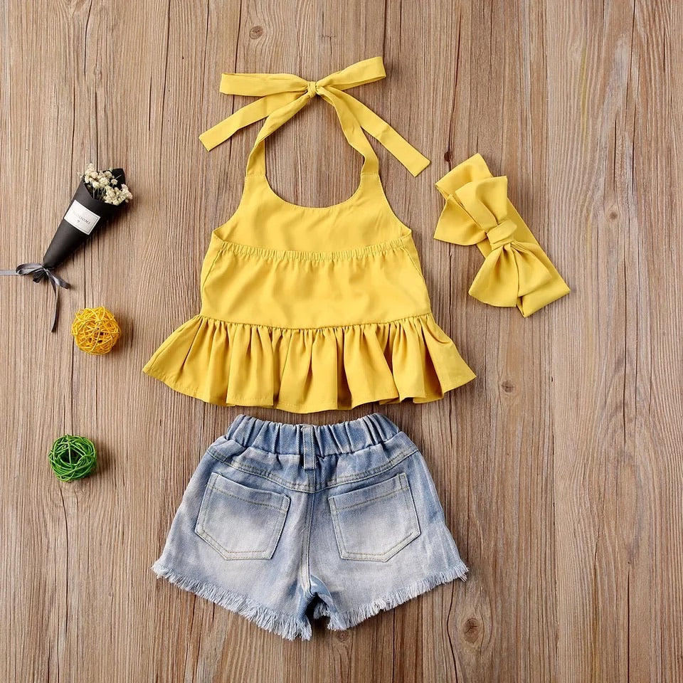 Erika 3 Piece Set - Yellow