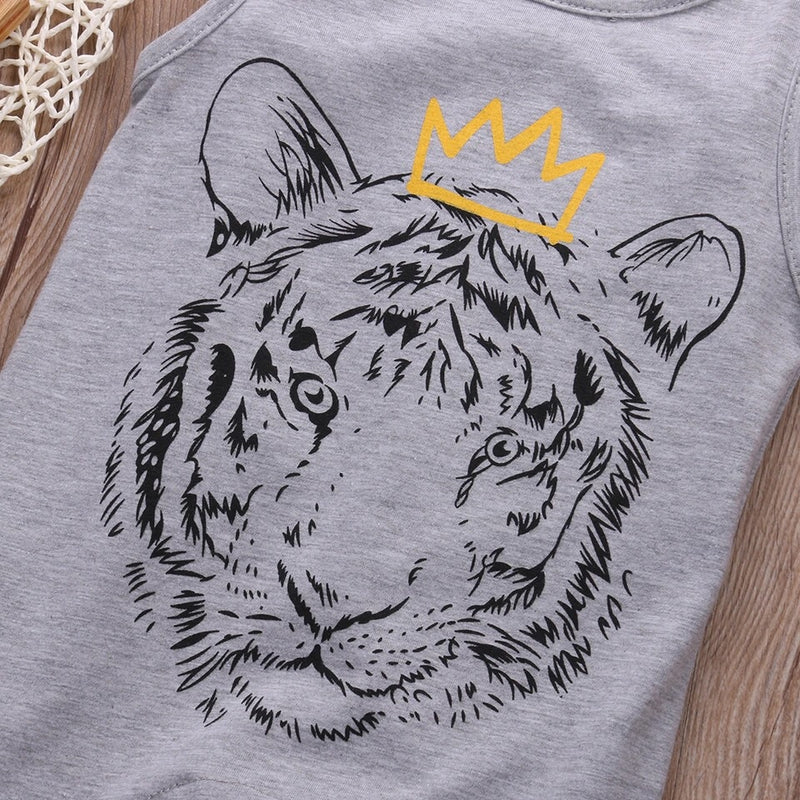 "Tiger ""King"" Romper"