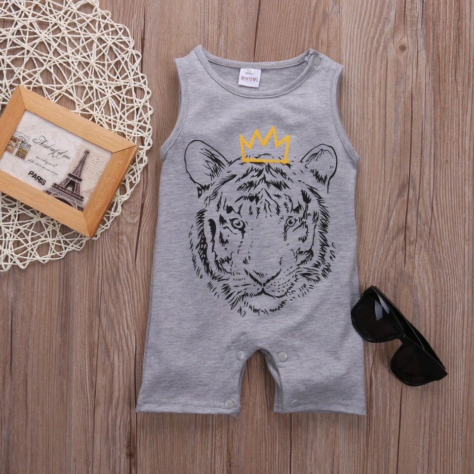"Lion ""King"" Romper"