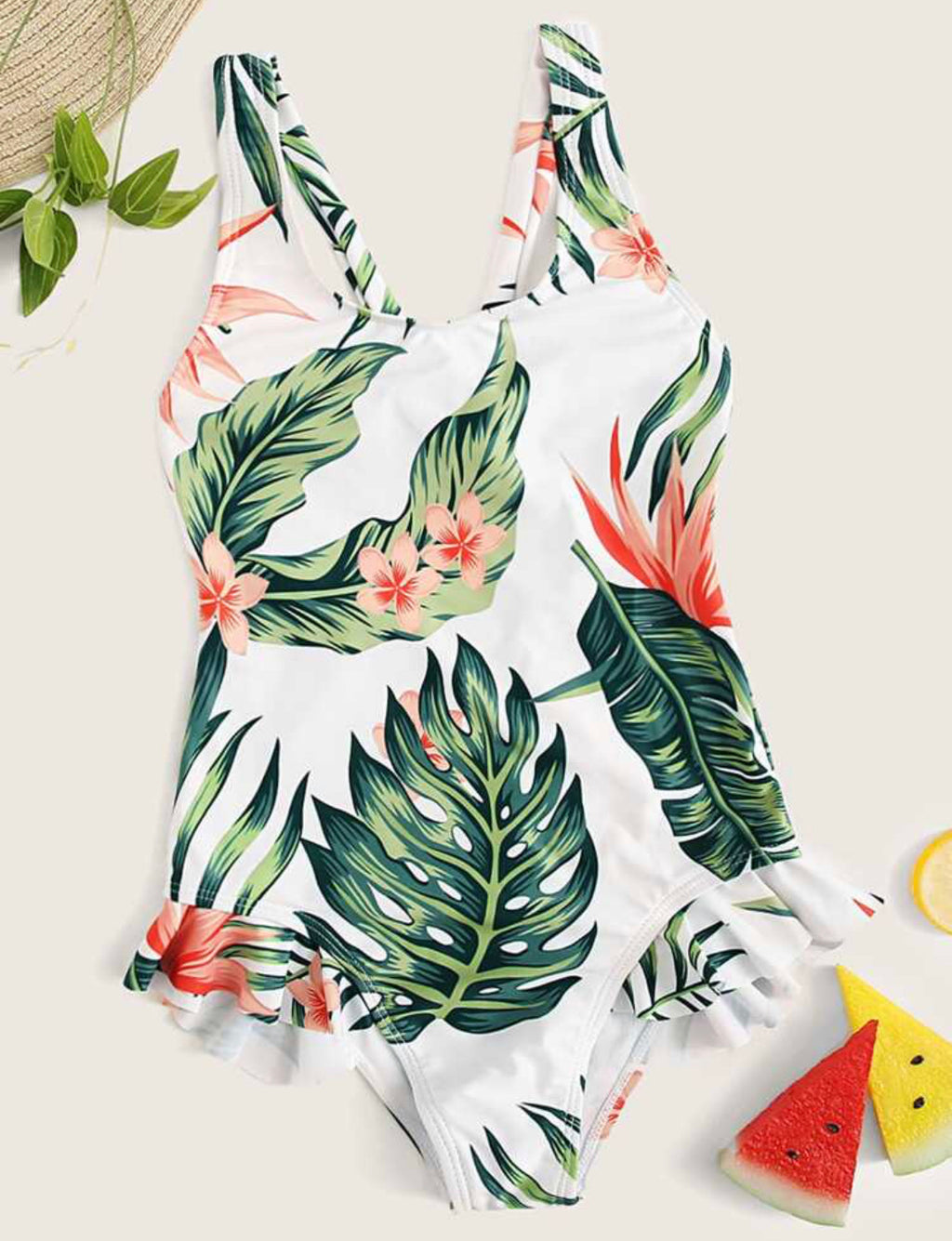 Tropical Mommy & Me Swimsuit - Daughter