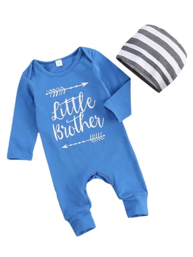 Little Brother 2 Piece - Blue
