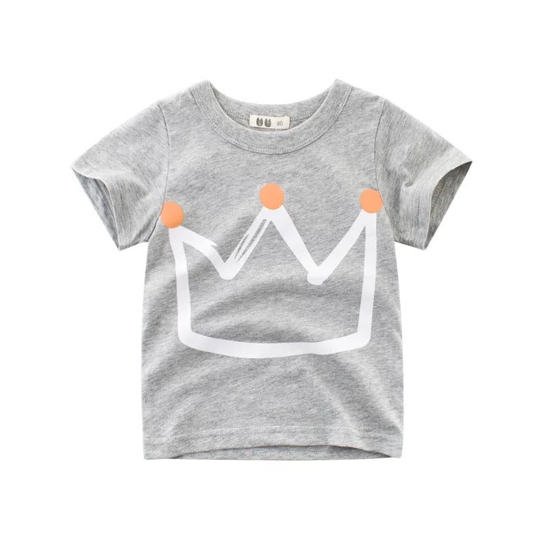 King Crown T-Shirt - Gray