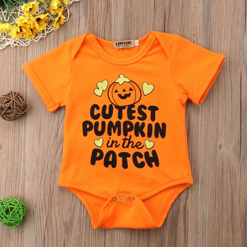 Cutest Pumpkin In the Patch Onesie