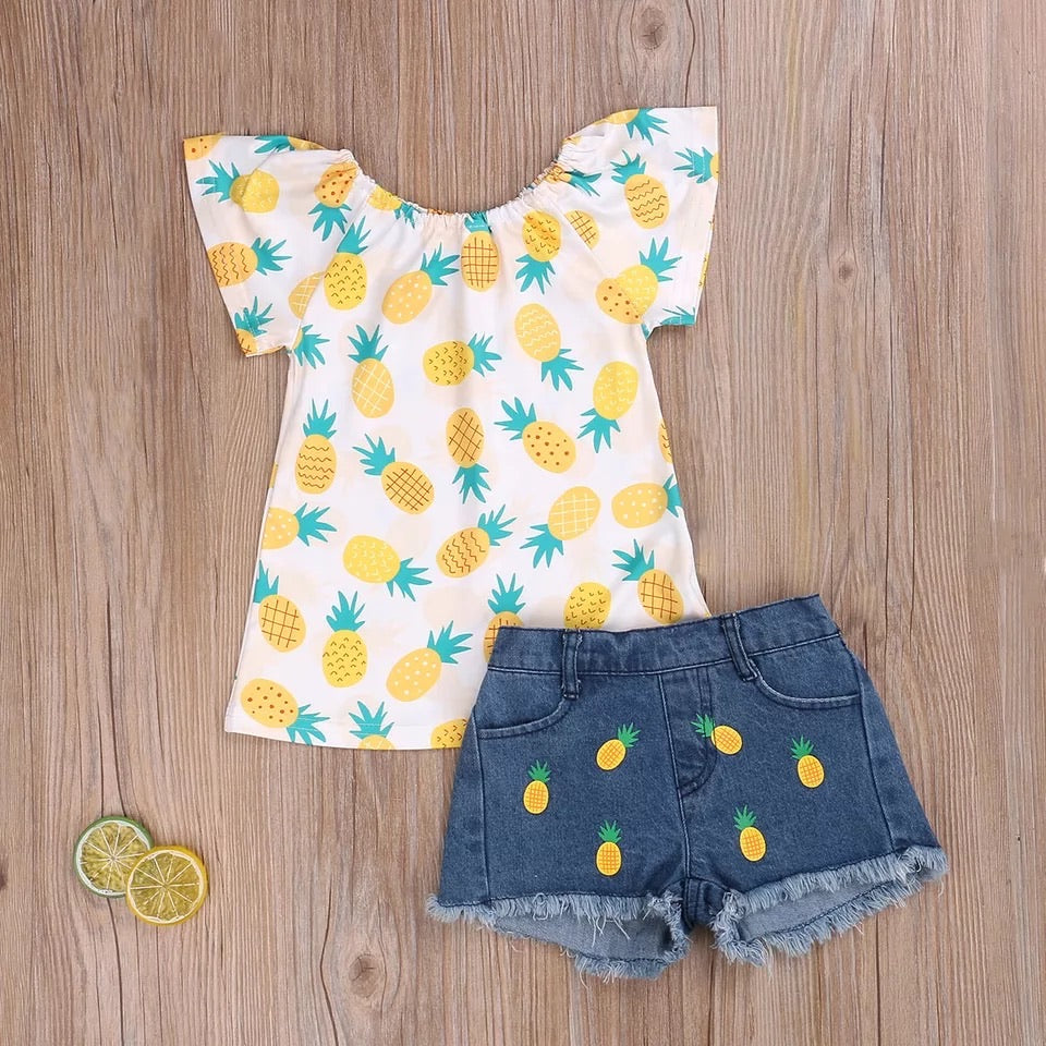 Pineapple 2 piece set