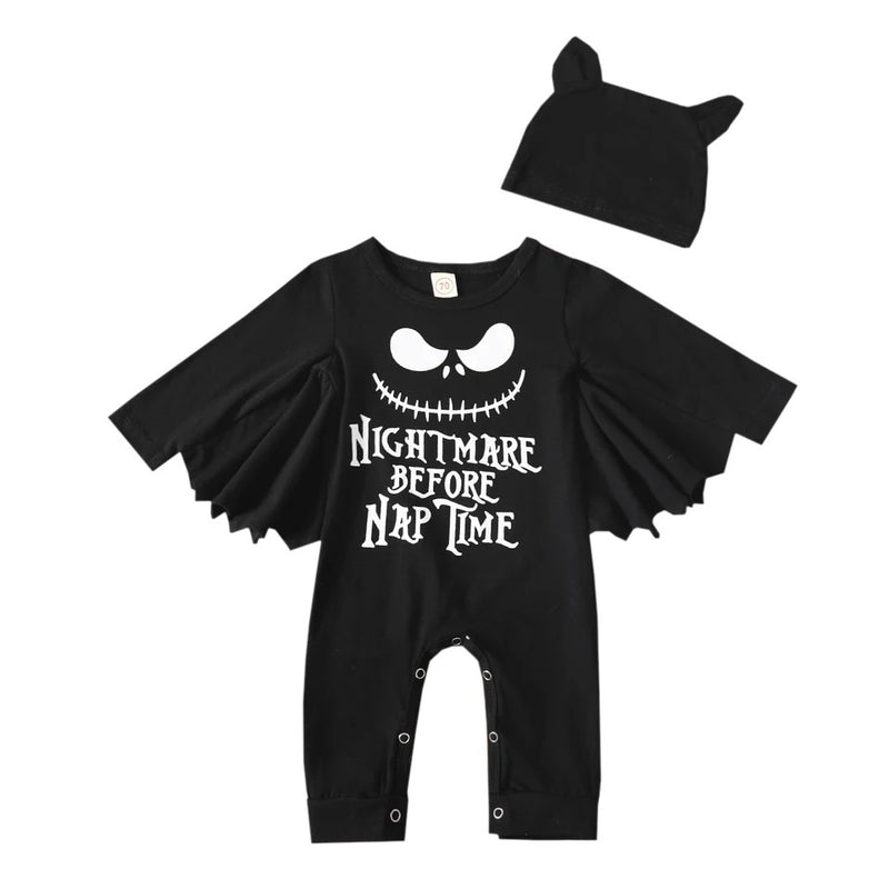 Nightmare Before Nap Time Romper Set