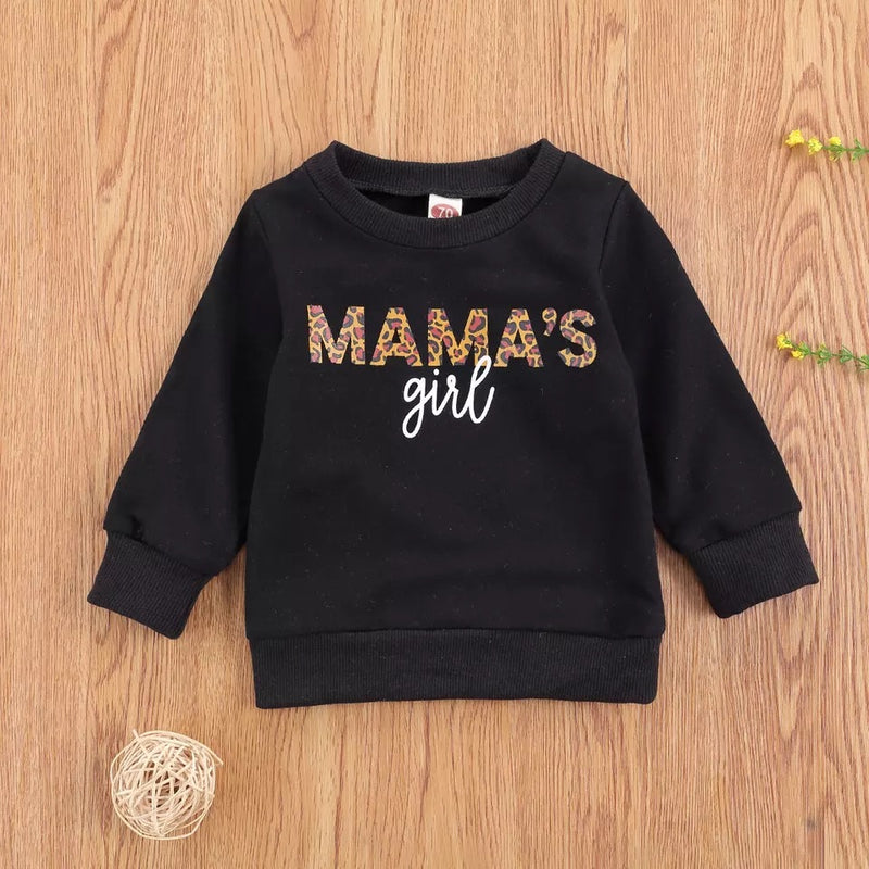 Mamas Girl Sweater - Black