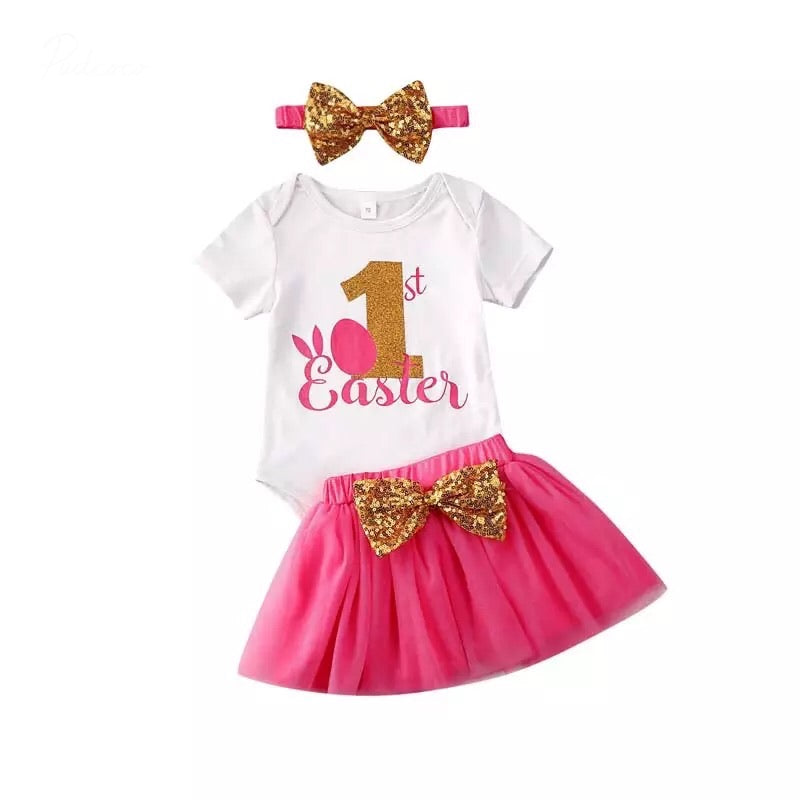 1st Easter Tutu Set