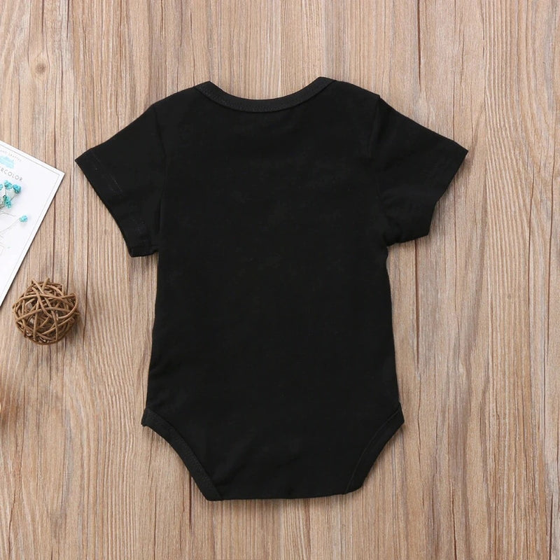 Mama's Mini Black Onesie