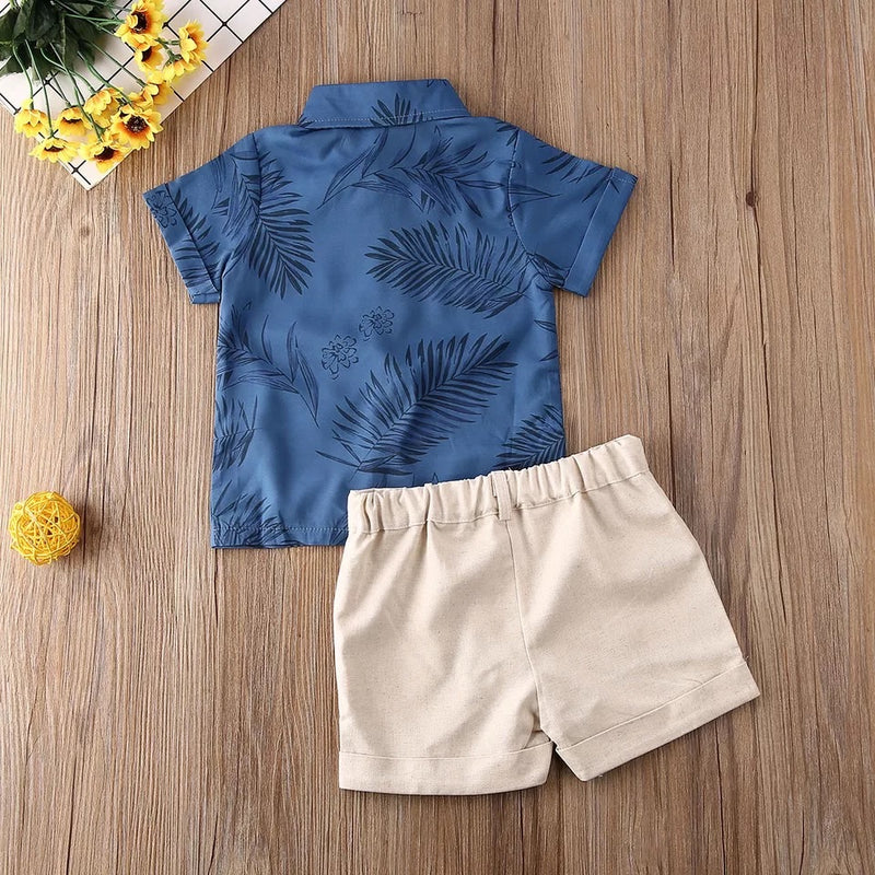 Boys Palm Leaf 2 Piece
