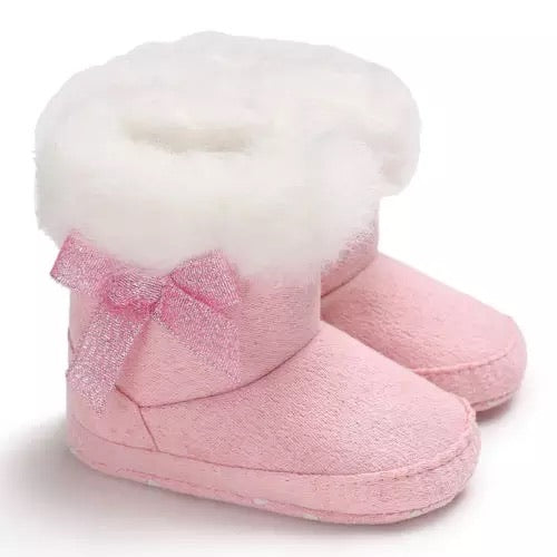 Baby Girl Boots - Pink