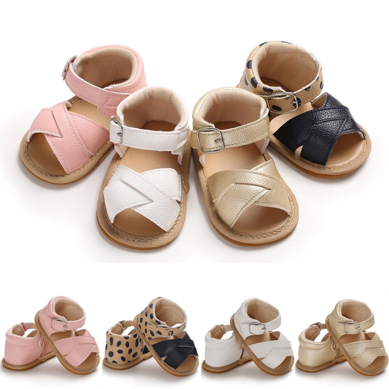 Baby Girl Leather Sandals
