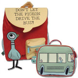 Mo Willems - Pigeon in Bus Backpack & Lunch Bag Set