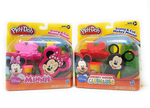 Play-Doh Mickey Mouse & Minnie Mouse Clubhouse Set