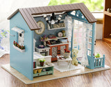 CuteBee DIY Wooden Out In The Wild Dollhouse