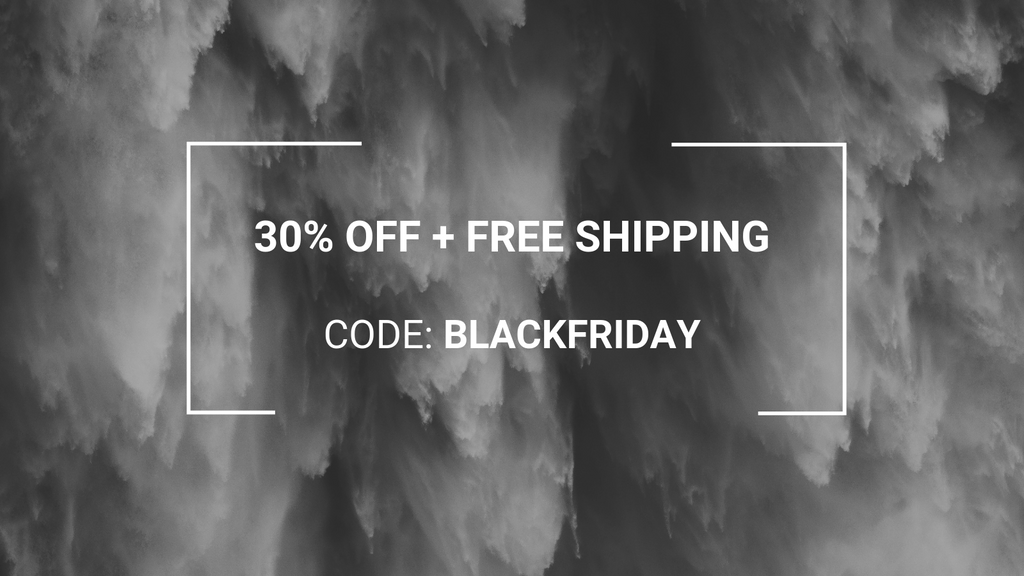 Blaꞥk Friday - Get 30% OFF + Free Shipping