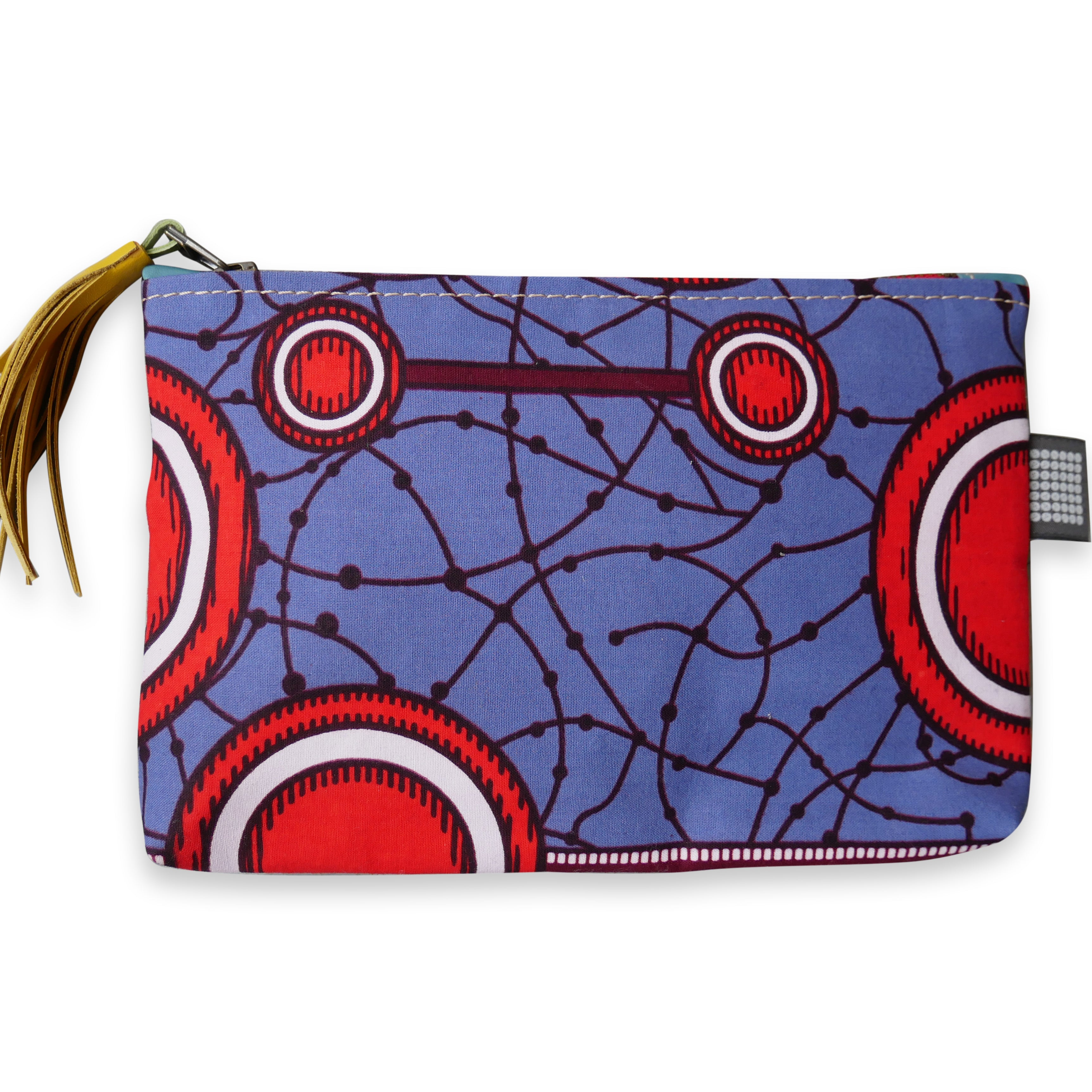 African Print Pouch