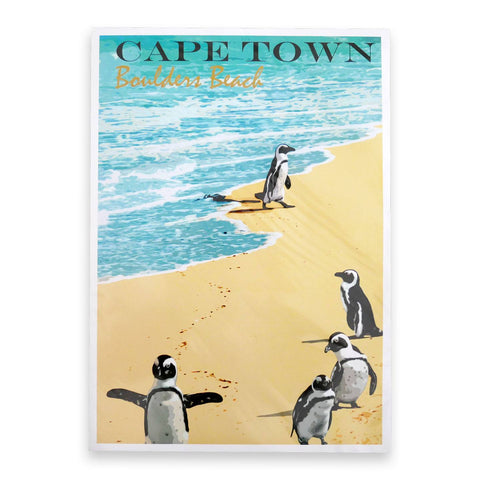 Cape Town Boulder's Beach - Travel Print