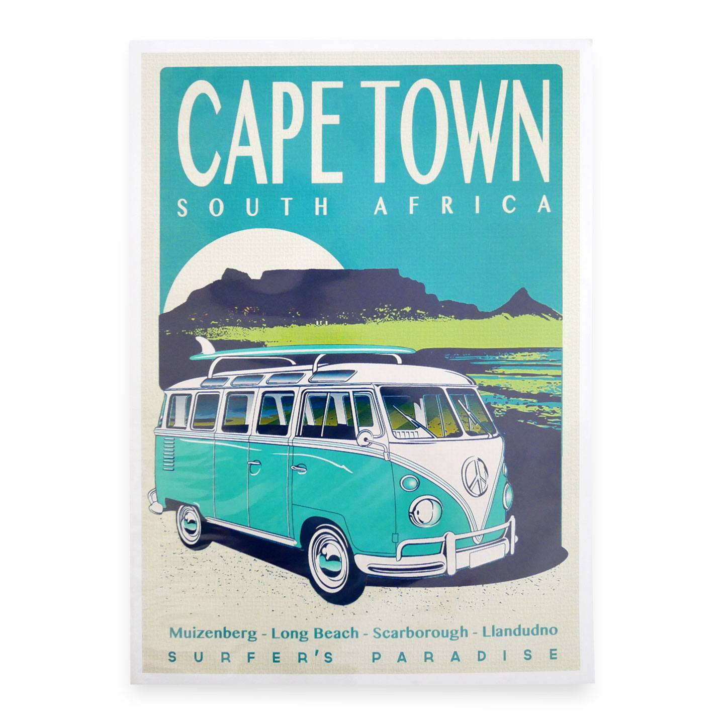 Cape Town Surfer's Paradise - Travel Print