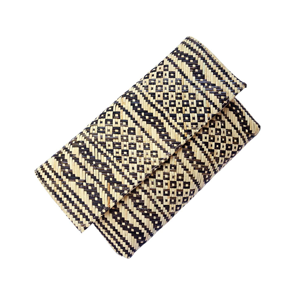 Bali Straw Clutch Bag