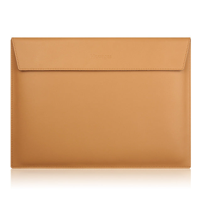 Genuine Leather MacBook Pouch