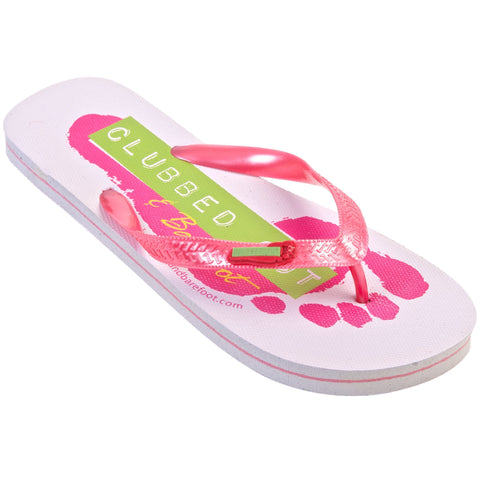 Clubbed Out & Barefoot Flip Flops - 10 Pairs