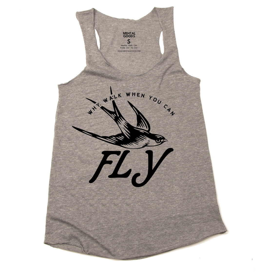 What Walk When You can Fly - Ladies Tank Top