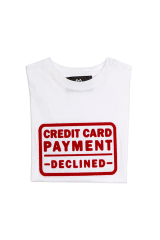 Credit card payment declined t-shirt