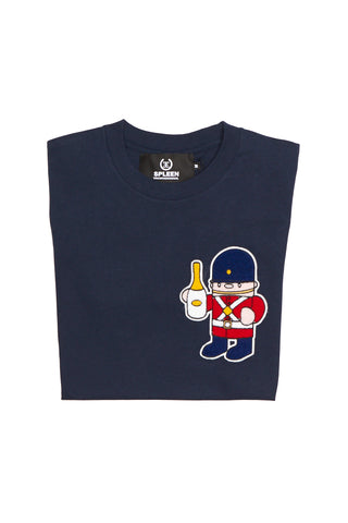 Champagne soldier t-shirt