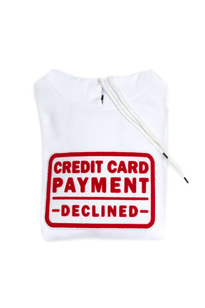 Credit card payment declined