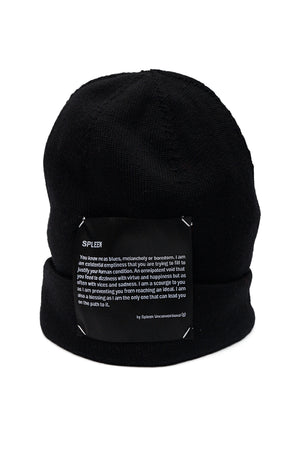Spleen definition label beanie