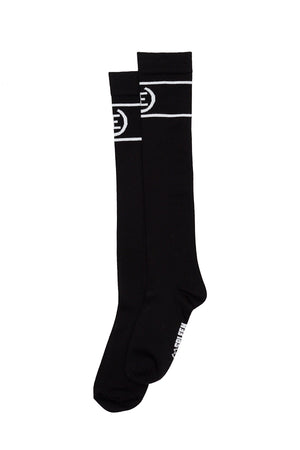 Long socks logo