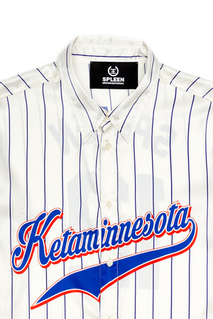 Ketaminnesota silk shirt Spleen made in italy