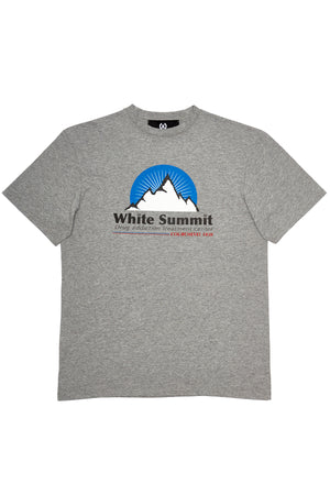 Courchevel t-shirt rehab grey t-shirt