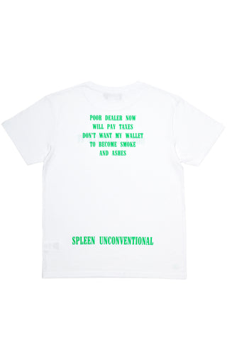 Don't legalize it weed poem white t-shirt cotton made in italy