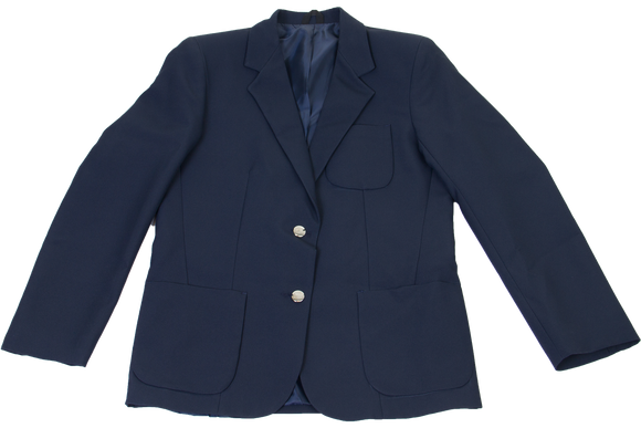 Ladies Plain Blazer - Navy