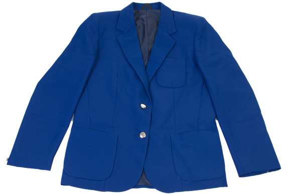 Ladies Plain Blazer - Royal