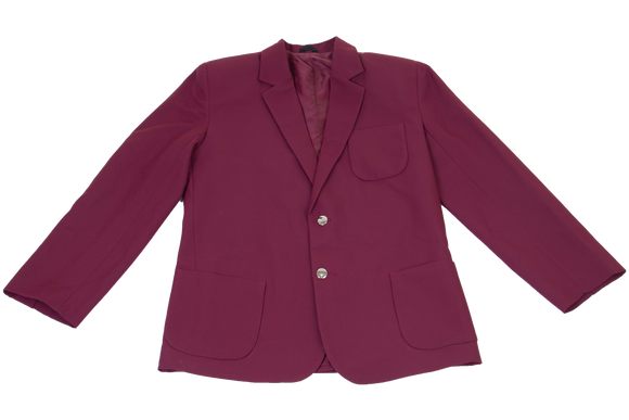 Gents Plain Blazer - Maroon