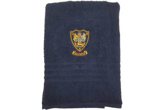 Navy Towel Emb - Durban High School