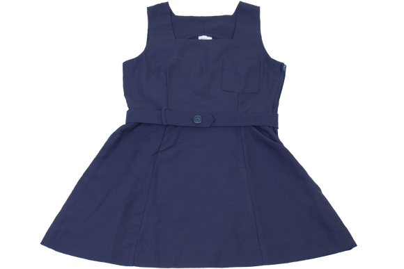 Plain Tunic - Navy Square