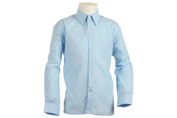 Longsleeve Raised Collar Shirt - Khombind