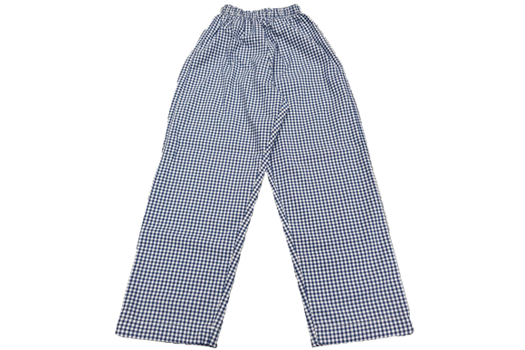 Elasticated Check Pants - Berea West