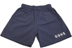 Quantec Baggies Emb Navy - Grosvenor Girls High