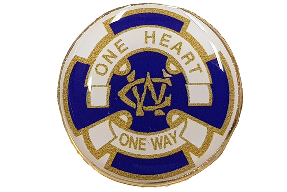 Wesley Guild Lapel Pin
