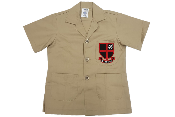 Safari Jacket Emb Sand - Clifton