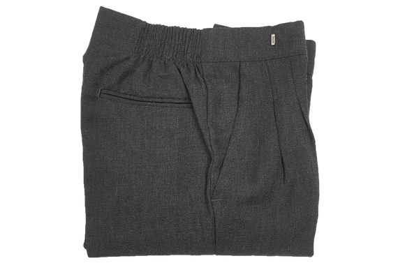 Elastic Trouser (Kids) - Grey