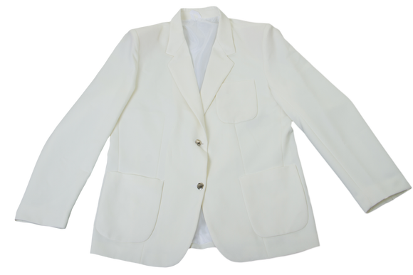 Gents Plain Blazer - Cream